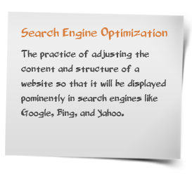 Search engine optimization - definition of search engine ...
