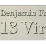 Benjamin Franklin's 13 Virtues
