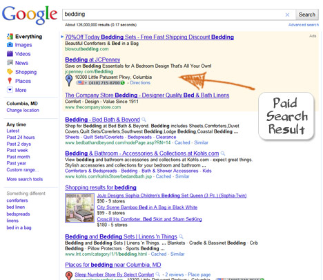 JC Penney's Black Hat Search Engine Optimization Example 1