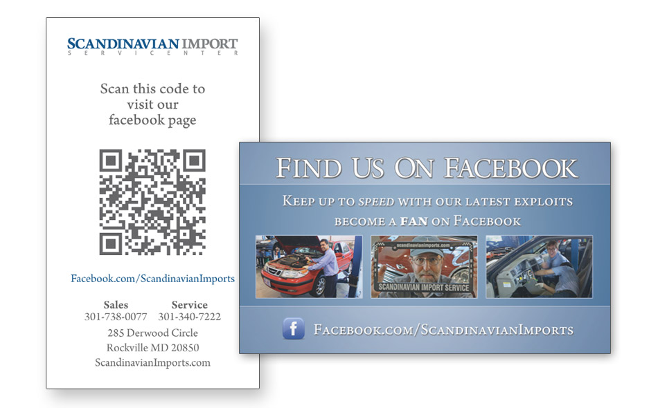 Scandinavian-Facebook-Business-Card-with-QR-Code
