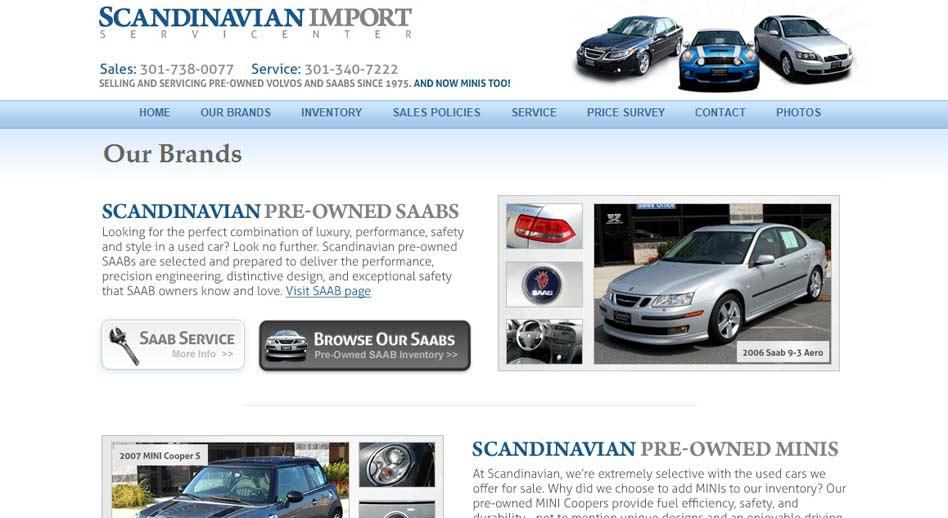 Auto Website & SEO